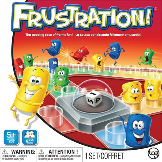 Frustration! Board Game