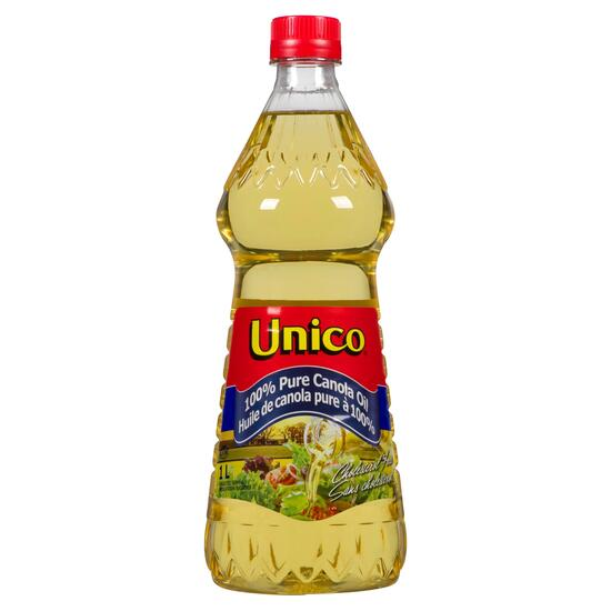 Unico 100% Pure Canola Oil - 1L