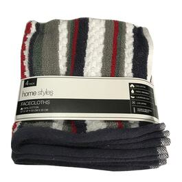 HomeStyles Canadian Facecloth 4pk. - 13in.