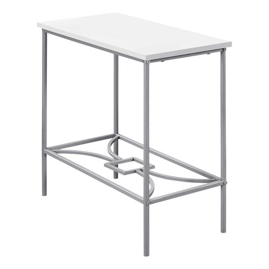 Monarch Specialties Metal Accent Table - 22in.