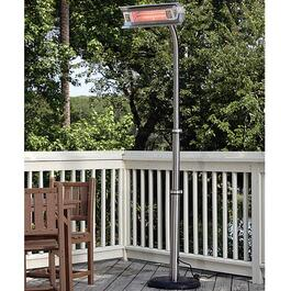 Paramount Stainless Steel Infrared Patio Heater with Telescope Pole