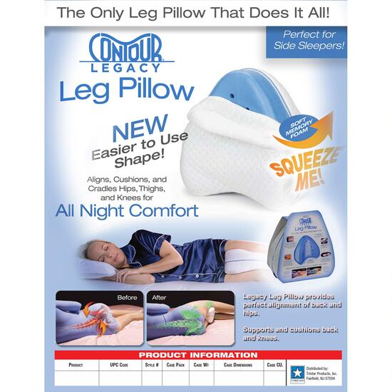As Seen On TV Contour Legacy Leg Pillow