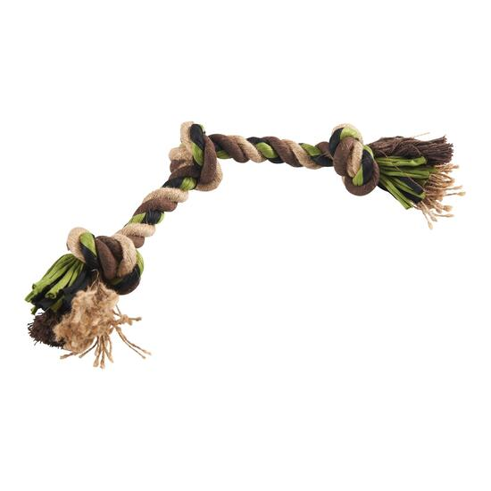 Camouflage Rope Dog Toy