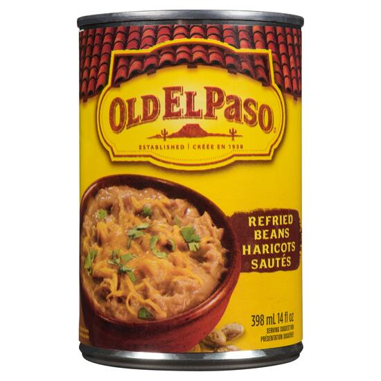 Old El Paso Refried Beans - 398ml