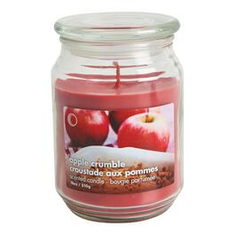 Apple Crumble Scented Jar Candle - 18oz.