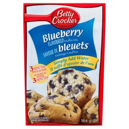 Betty Crocker Blueberry Flavoured Muffin Mix - 184g