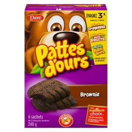 Bear Paws Soft Brownie Cookies - 240g