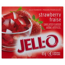 Jell-O Strawberry Powder - 85g