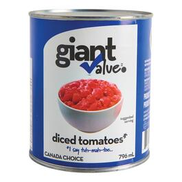 Giant Value Diced Tomatoes - 796ml
