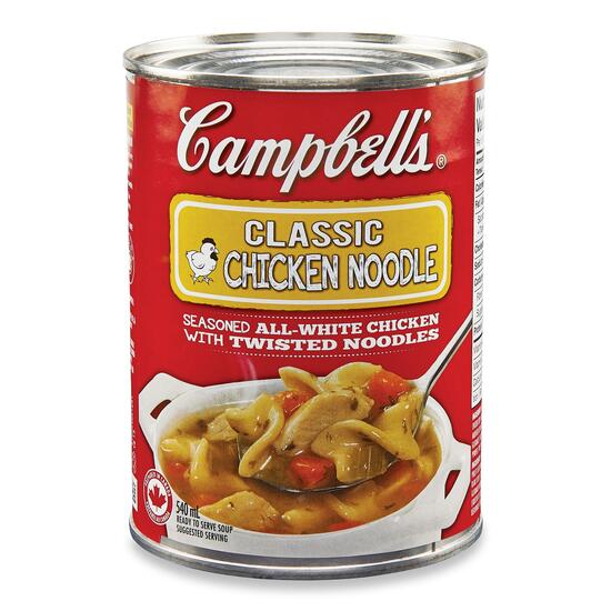 Campbell's Ready to Serve Soup Classic Chicken Noodle - 540ml