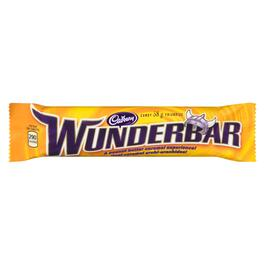 Cadbury Wunderbar Candy Bar - 58g