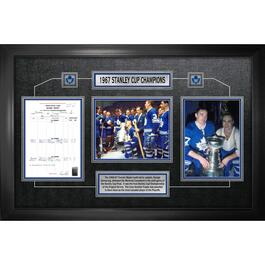Frameworth Toronto Maple Leafs 1967 Stanley Cup Champions - 25in.x36in.