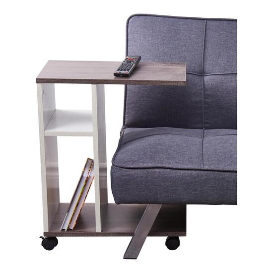 HomeStyles Sofa Rolling Table