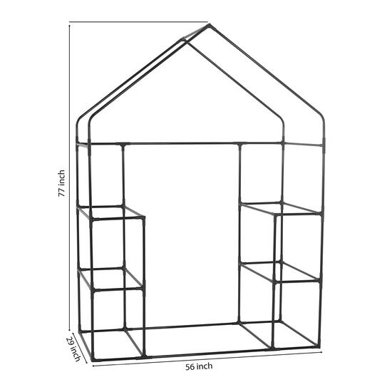 Ogrow Deluxe Walk-In 3 Tier Portable Greenhouse - 77in.