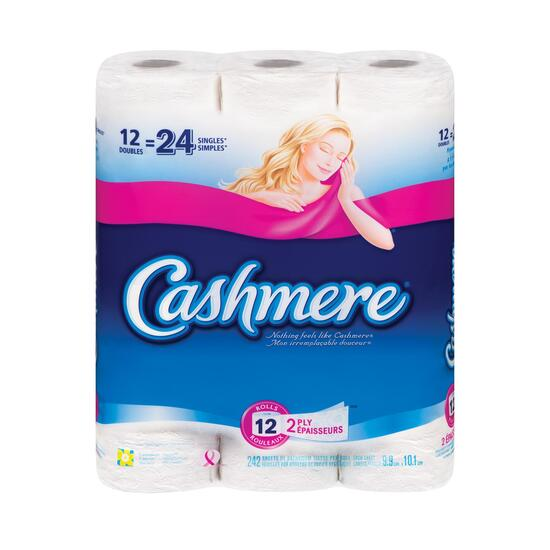 Cashmere Regular Toilet Paper - 12pk.
