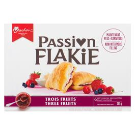 Vachon Three Fruits Passion Flakie 6pk. - 305g