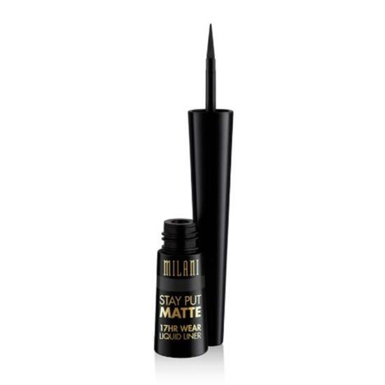 Milani Stay Put Matte 17-Hour Wear Liquid Eyeliner - Black Matte