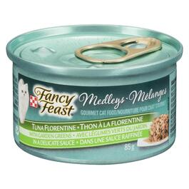 Fancy Feast Medleys Tuna Florentine Cat Food - 85g