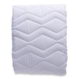 Simmons Deep Sleep White Mattress Pad - Queen