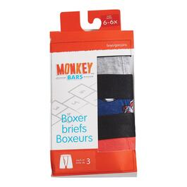 MONKEY BARS Boys Boxer Briefs - 3pk.