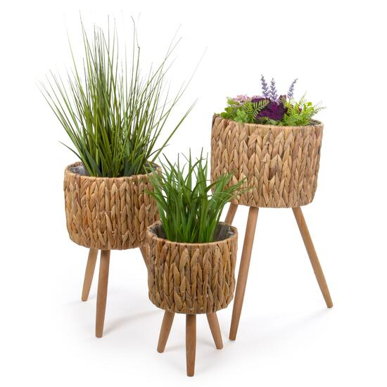 Truu Design Decorative Hyacinth Planter Set - 3pc.