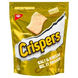 Crispers Salt and Vinegar Crackers - 175g