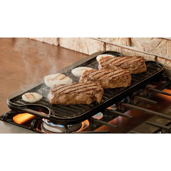 Lodge Cast Iron Reversible Grill and Griddle - 20in.