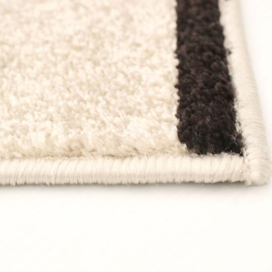 eCarpetGallery Ana Ivory/Brown Area Rug