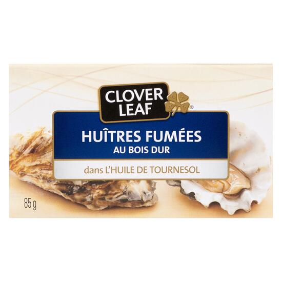 Clover Leaf Hardwood Smoked Oysters in Sunflower Oil - 85g