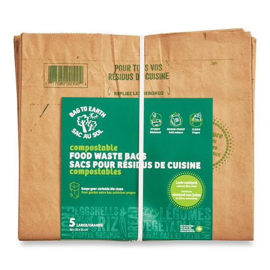 Bag to Earth Large Compostable Food Waste Bags