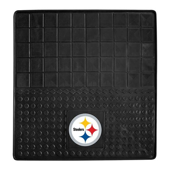 NFL Pittsburgh Steelers Heavy Duty Vinyl Cargo Mat - 31in.