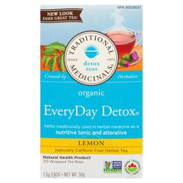 Traditional Medicinals Organic Lemon Tea - 20pk.