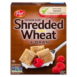 Post Shredded Wheat and Bran Spoon Size Cereal - 525g