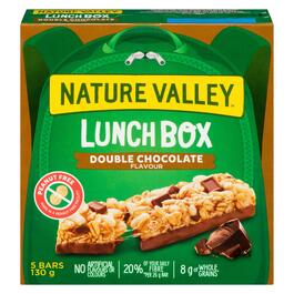 Nature Valley Double Chocolate Lunch Box Bars 5pk. - 130g
