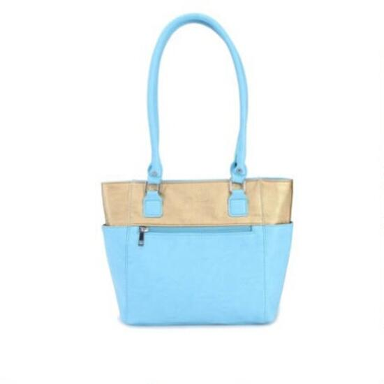 Luxanne Lollipop Tote - Blue