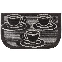 Nova Home Collection Brown Non-Slip Kitchen Mat - 30in.