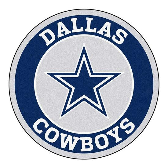 NFL Dallas Cowboys Roundel Mat - 27in.