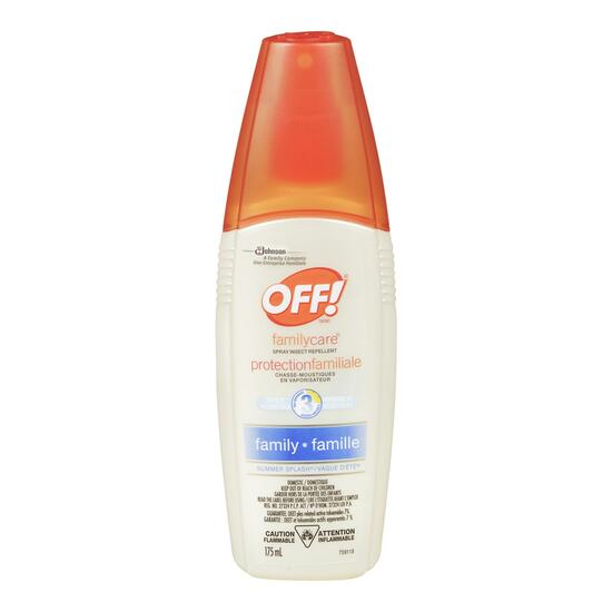 Off! Family Care Summer Splash Insect Repellent - 175mL