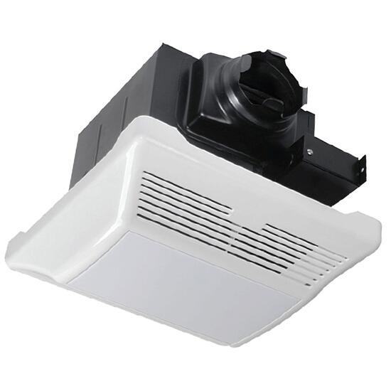 Toolway Lightway Deluxe Quiet Bath Fan with Light