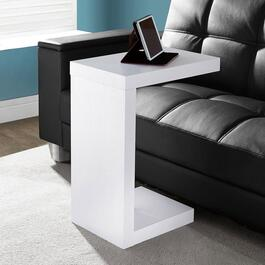 Monarch Specialties White Modern Accent/Tray Table