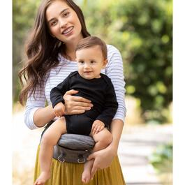 Moby 2-in-1 Carrier and Hip seat - Grey
