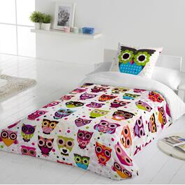 Gouchee Design Owls Duvet Cover Set - Twin