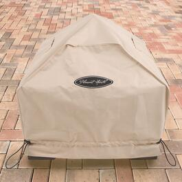 Pleasant Hearth Beige Small Square Fire Pit Cover