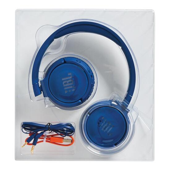 JBL Tune 600 Over-Ear Noise Cancelling Headphones - Blue