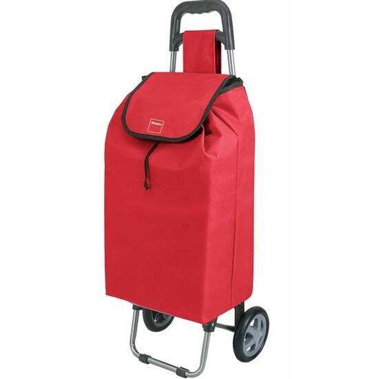 Metaltex Daphne Shopping Trolley - Red
