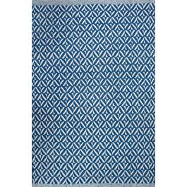 Avocado Décor Sailor Blue Dhurrie Bev Rug - 2.3ft. x 7.9ft.