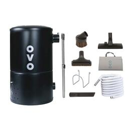 OVO Compact 550 Airwatts Central Vacuum with Cleaning Tools