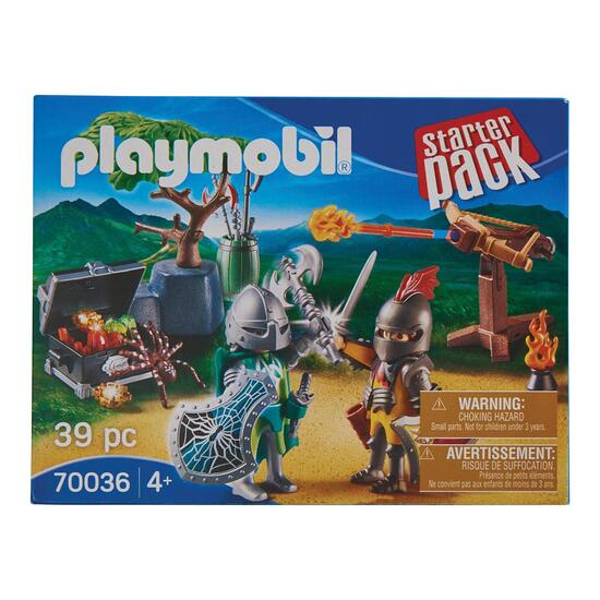 Playmobil Starter Pack Knight's Treasure Battle - 39pc.