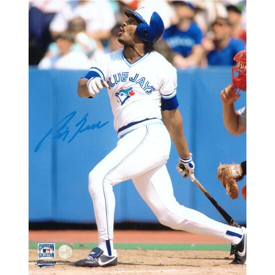 George Bell Unframed Signed Toronto Blue Jays Photo - 8in.x10in.