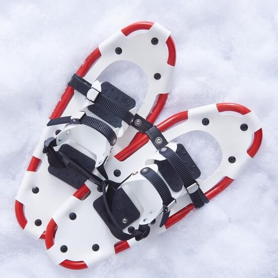 Mountain Ridge Kids White Snowshoes